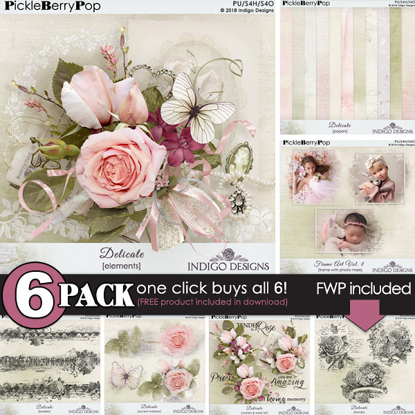 Off Your Rocker 6-Pack Plus FWP by Fayette Designs