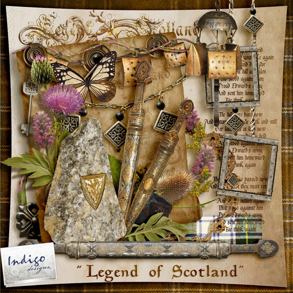 """Legend of Scotland"" by Indigo Designs"