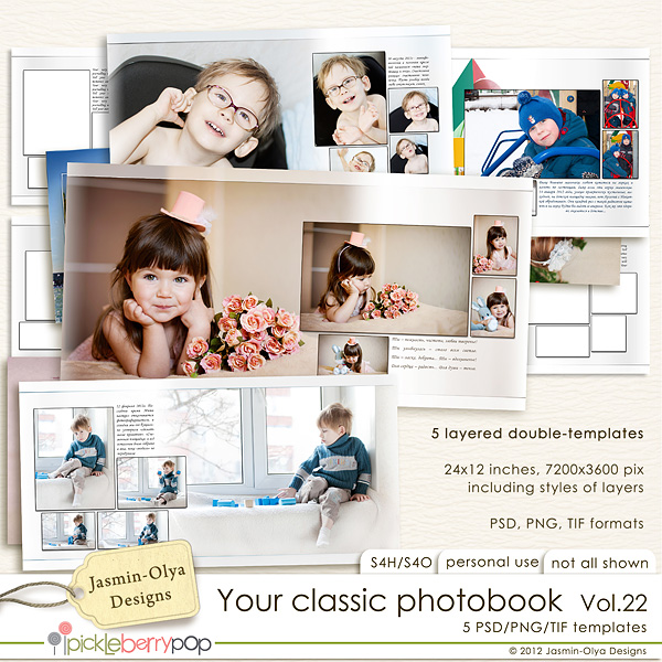 Your classic photobook Vol.22 (Jasmin-Olya Designs)