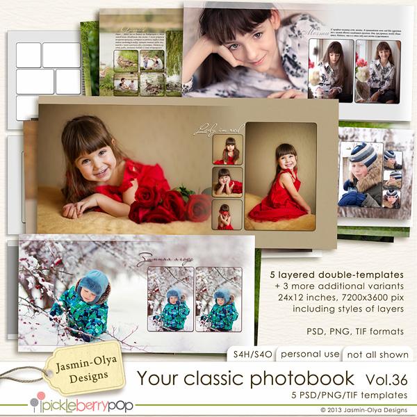 Your classic photobook Vol.36 (Jasmin-Olya Designs)