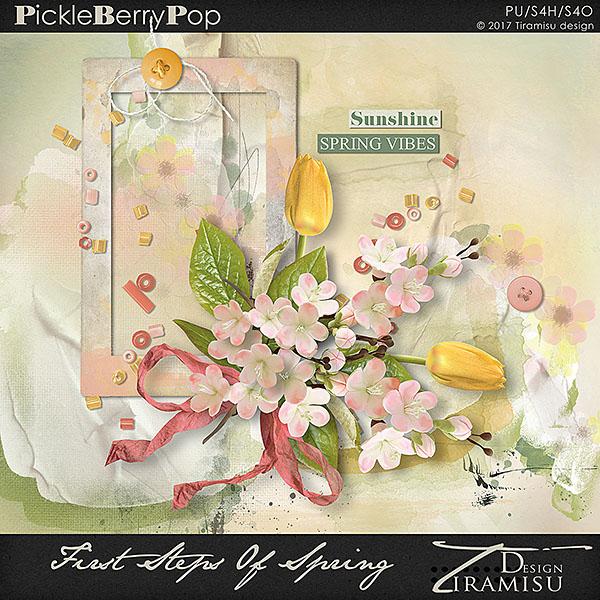 First Steps Of Spring ~ Basic Kit by Tiramisu design