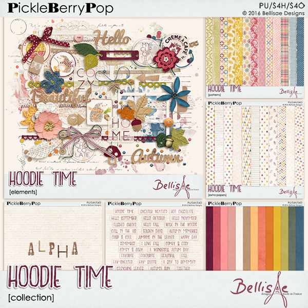 HOODIE TIME | collection by Bellisae Designs