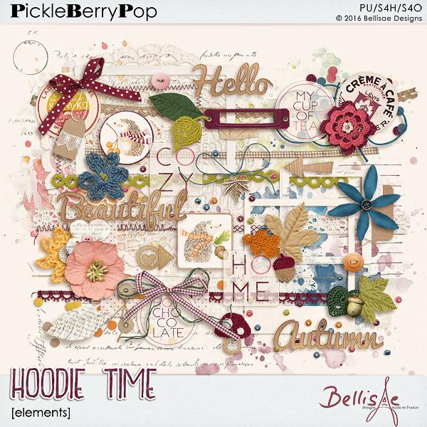 HOODIE TIME | elements by Bellisae Designs