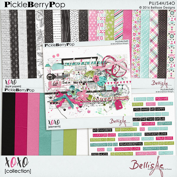 XOXO   collection by Bellisae Designs