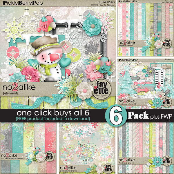 No2Alike {6-Pack Plus FWP} by Fayette Designs