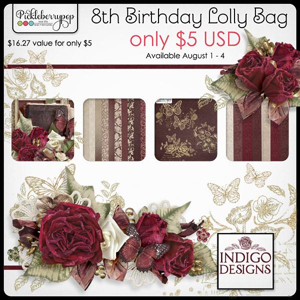 Indigo Designs - Lolly Bag