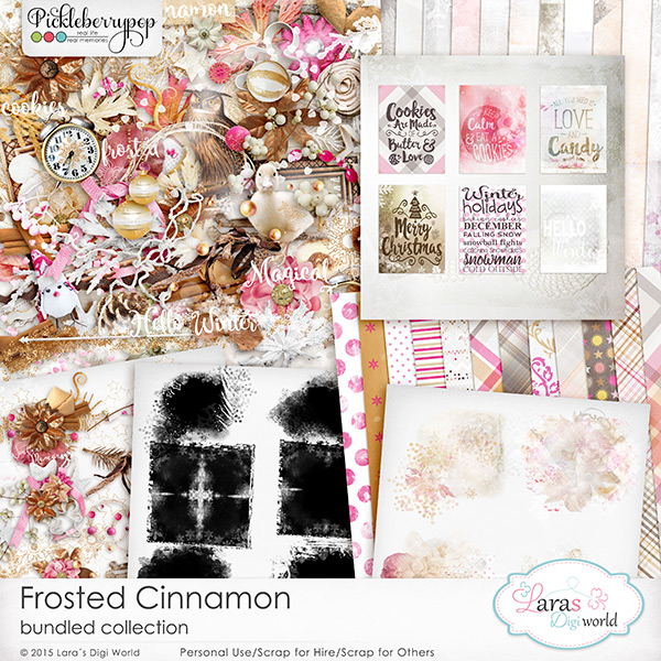 Frosted Cinnamon Bundled Collection
