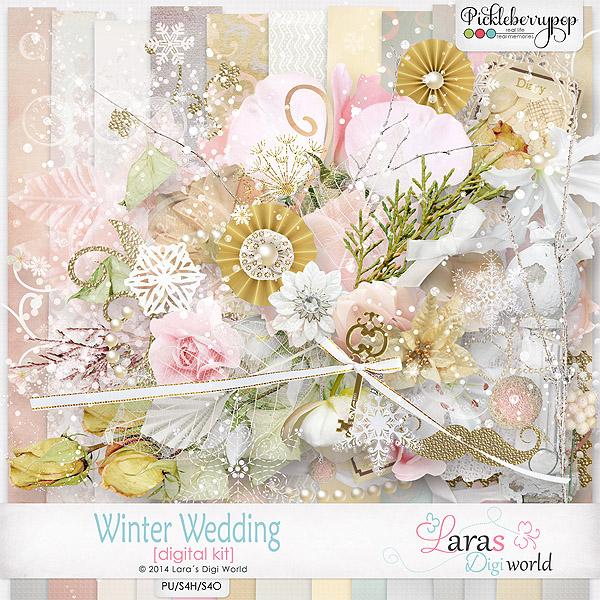Winter Wedding Kit by Lara´s Digi World