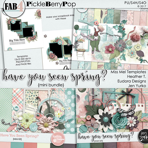 Have You Seen Spring? {Mini Kit Bundle}