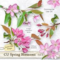 CU Spring Blossoms Vol.1 (apples)