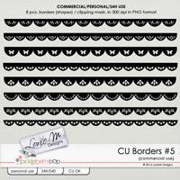 CU Borders (Shapes) #5