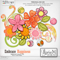Embrace Happiness Element Pack 2
