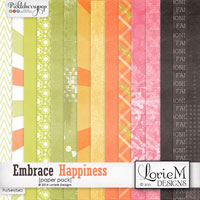 Embrace Happiness Paper Pack