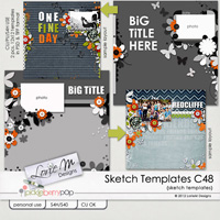 Sketch Templates Collection 48 (CU/PU/S4H USE)