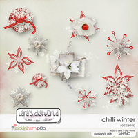Chilli Winter accents by Lara´s Digi World