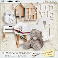 CU Wonderful childhood Vol.4 (Jasmin-Olya Designs)