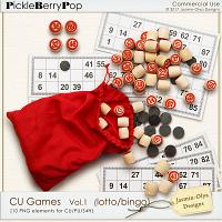 CU Games Vol.1 - lotto (Jasmin-Olya Designs)