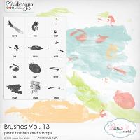 Brushes Vol. 13