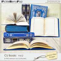 CU Books Vol.2 (Jasmin-Olya Designs)
