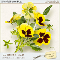 CU Flowers Vol.25 (Jasmin-Olya Designs)