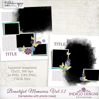 Beautiful Memories Templates Vol.52 by Indigo Designs