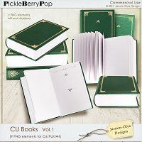 CU Books Vol.1 (Jasmin-Olya Designs)