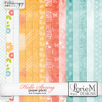 Hello Spring Paper Pack