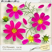 CU Flowers Vol.30 (Jasmin-Olya Designs)