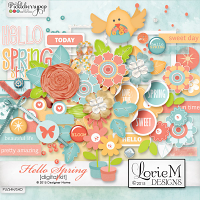 Hello Spring Element Pack #1