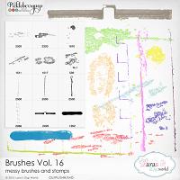 Brushes Vol. 16