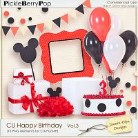 CU Happy Birthday Vol.3 (Jasmin-Olya Designs)