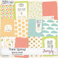THINK SPRING! | journal cards