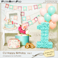 CU Happy Birthday Vol.1 (Jasmin-Olya Designs)