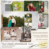 Your classic photobook Vol.51 (Jasmin-Olya Designs)