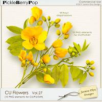 CU Flowers Vol.27 (Jasmin-Olya Designs)