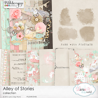Alley of Stories Collection with Free Photo Masks