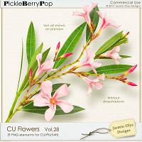 CU Flowers Vol.28 (Jasmin-Olya Designs)