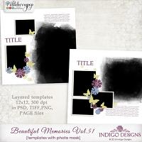 Beautiful Memories Templates Vol.51 by Indigo Designs