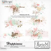 Happiness Paint Overlays