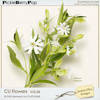 CU Flowers Vol.26 (Jasmin-Olya Designs)