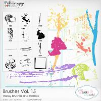 Brushes Vol. 15