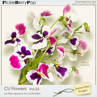CU Flowers Vol.23 (Jasmin-Olya Designs)