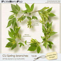 CU Spring branches Vol.8 (Jasmin-Olya Designs)