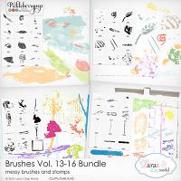 Brushes Vol. 13-16 Bundle